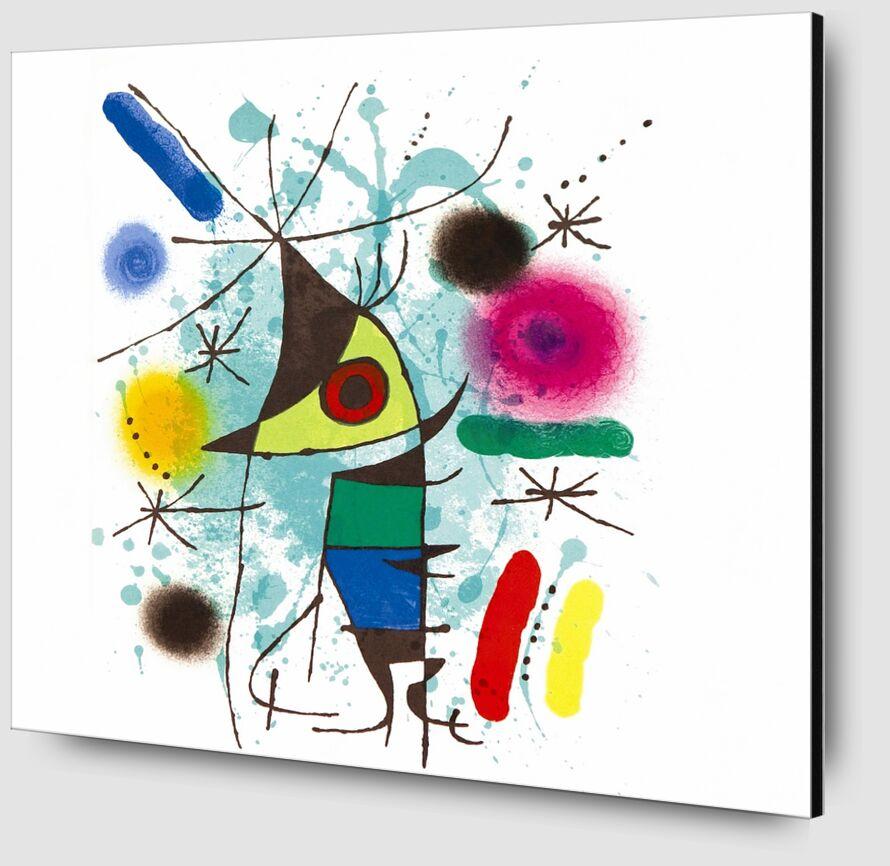 The Singing Fish - Joan Miró desde AUX BEAUX-ARTS Zoom Alu Dibond Image