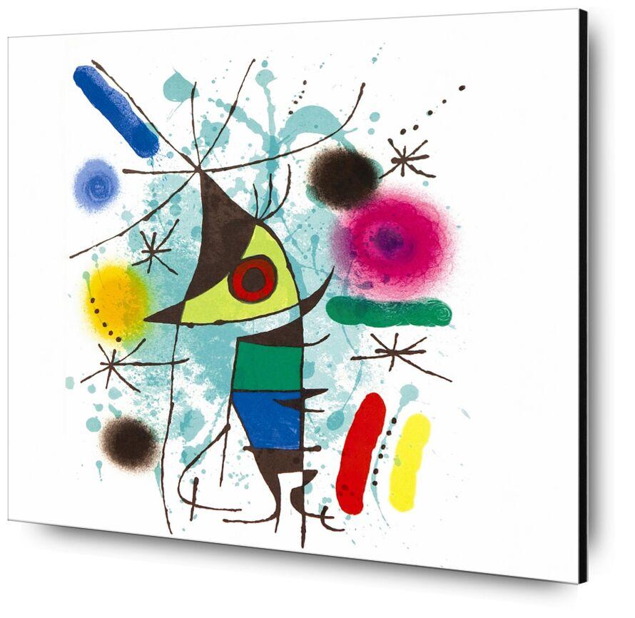 The Singing Fish - Joan Miró desde AUX BEAUX-ARTS, Prodi Art, Joan Miró, dibujo, pintura, abstracto, pescado, música, canto
