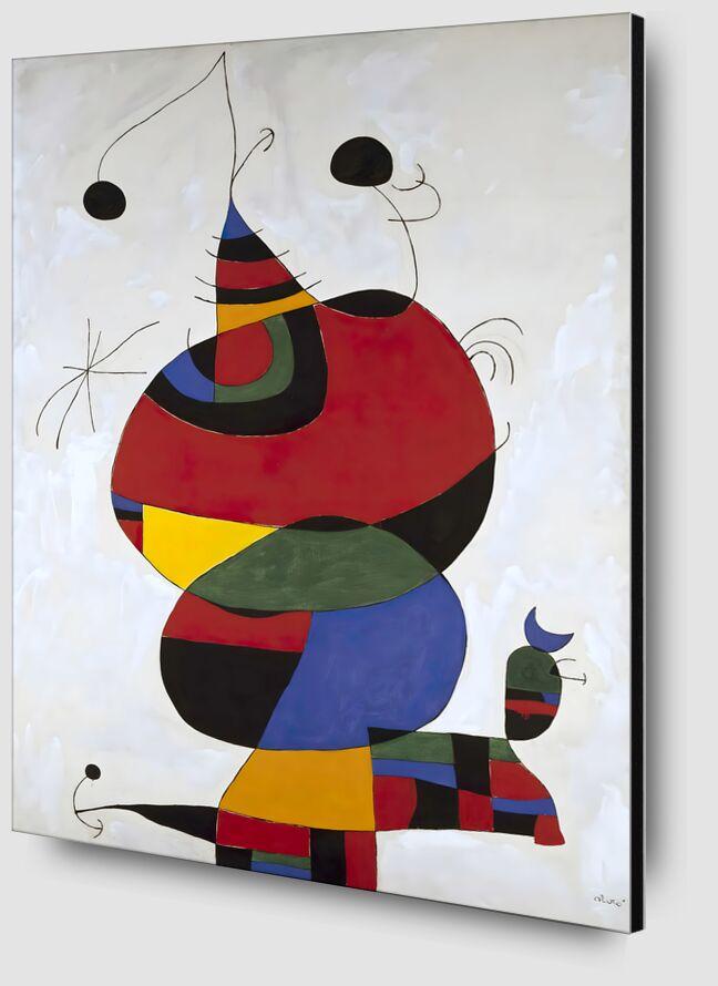 Hommage a Picasso - Joan Miró desde AUX BEAUX-ARTS Zoom Alu Dibond Image