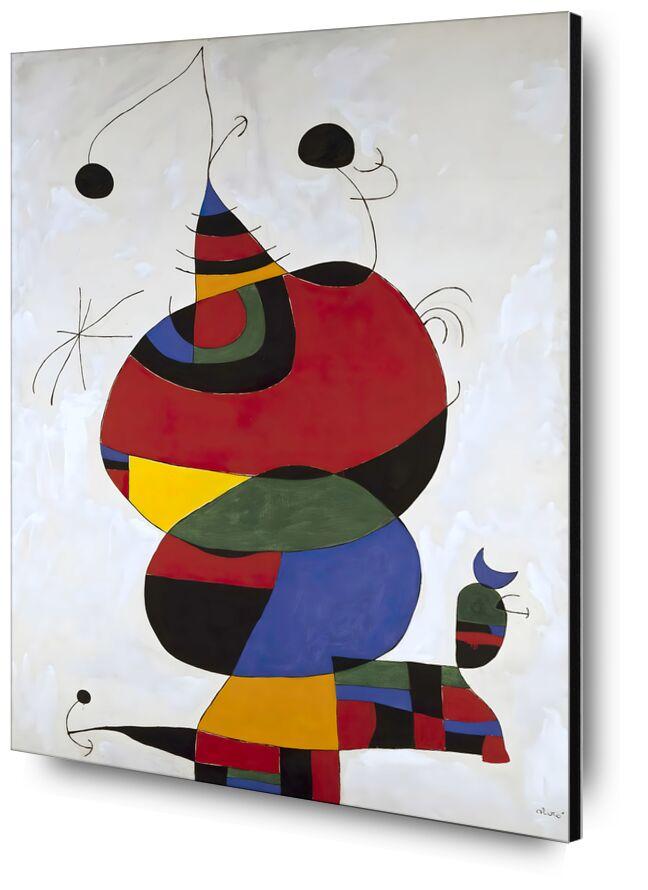 Hommage a Picasso - Joan Miró desde AUX BEAUX-ARTS, Prodi Art, Tributo, Joan Miró, dibujo a lápiz, retrato, picasso