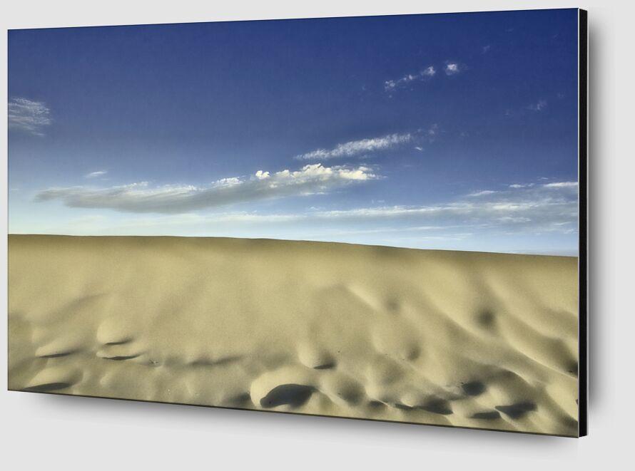 La dune de Gruissan de Céline Pivoine Eyes Zoom Alu Dibond Image