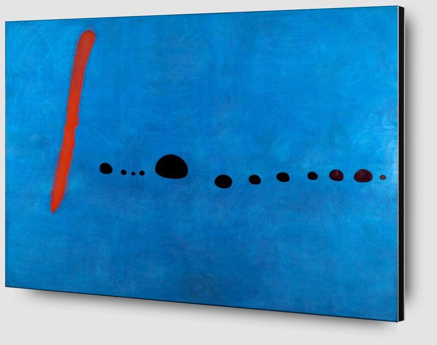 Blue II - Joan Miró from AUX BEAUX-ARTS Zoom Alu Dibond Image