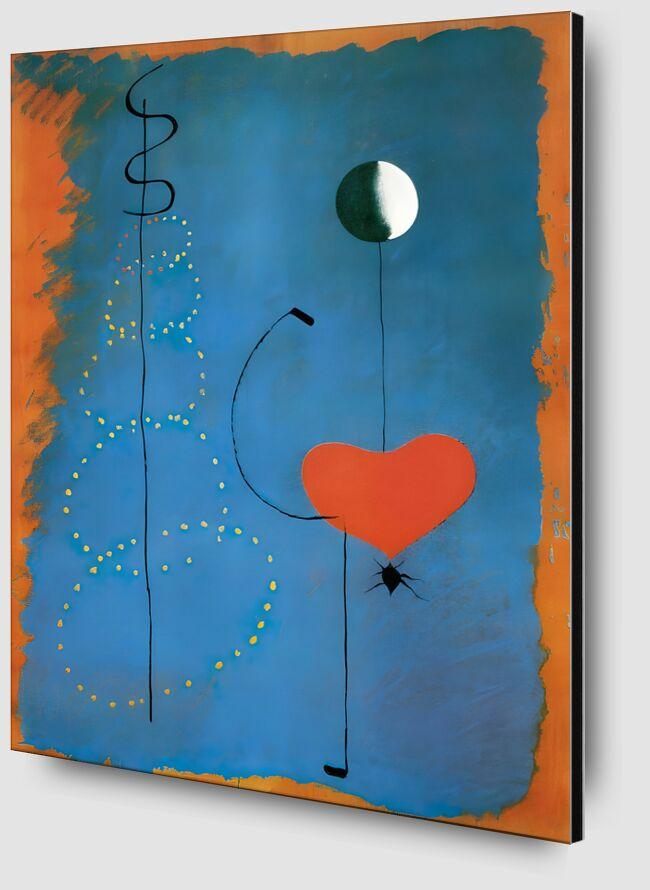 Ballerina - Joan Miró desde AUX BEAUX-ARTS Zoom Alu Dibond Image