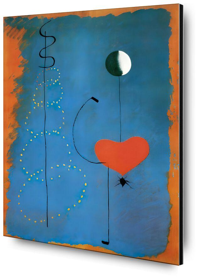 Ballerina - Joan Miró from AUX BEAUX-ARTS, Prodi Art, dancers, dance, singing, music, heart, drawing, Joan Miró