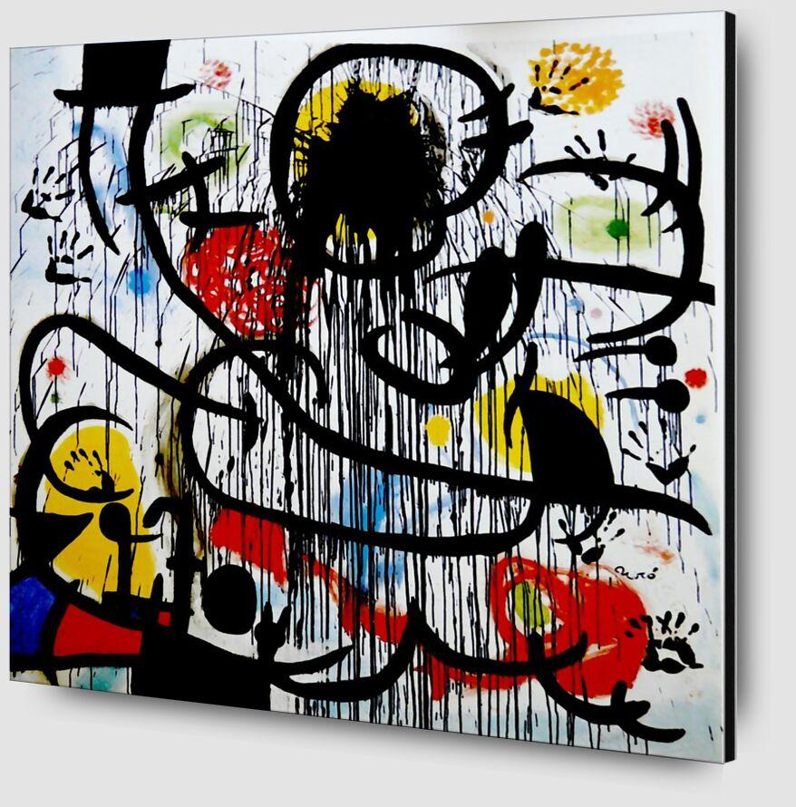 Mai 1968 - Joan Miró de AUX BEAUX-ARTS Zoom Alu Dibond Image