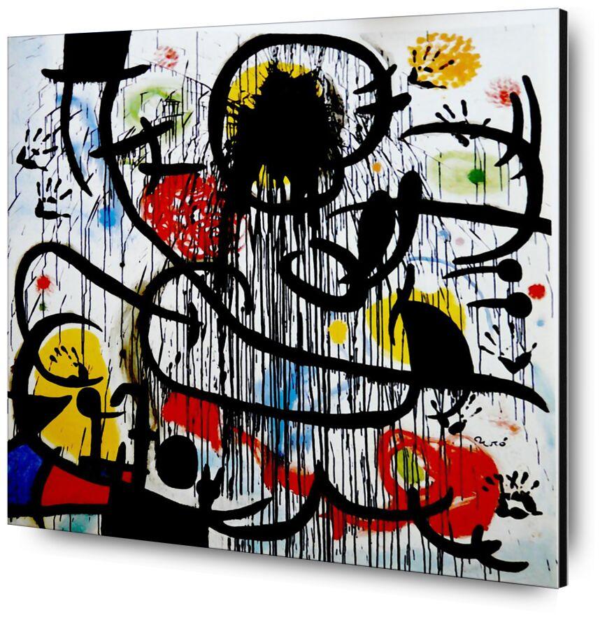 May, 1968 - Joan Miró from AUX BEAUX-ARTS, Prodi Art, mai 1968, painting, drawing, France, revolution, Joan Miró
