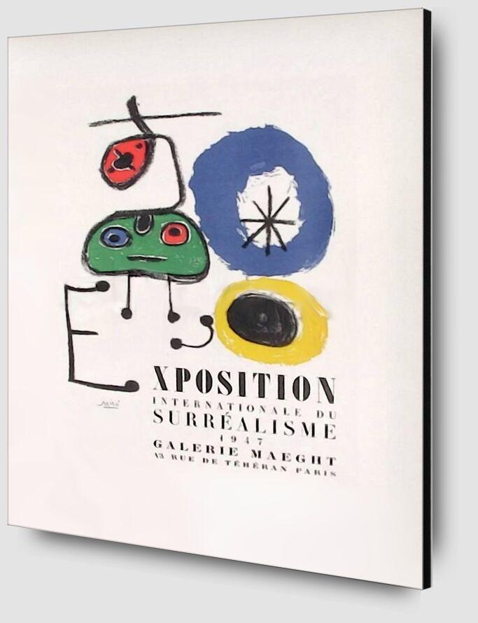 AF 1947, Galerie Maeght - Joan Miró de AUX BEAUX-ARTS Zoom Alu Dibond Image