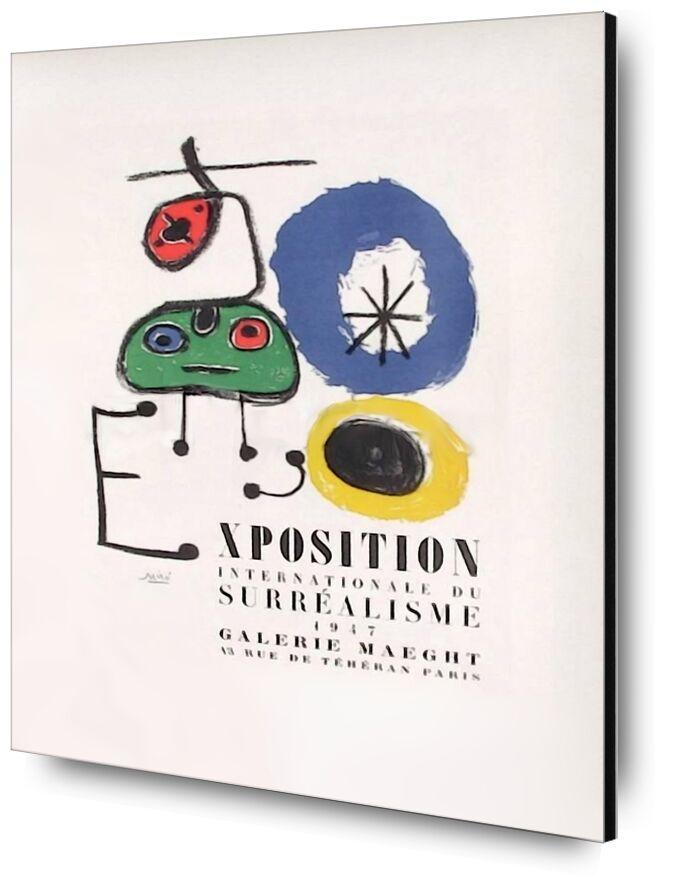 AF 1947, Galerie Maeght - Joan Miró de AUX BEAUX-ARTS, Prodi Art, dessin, exposition, Afficher, Joan Miró