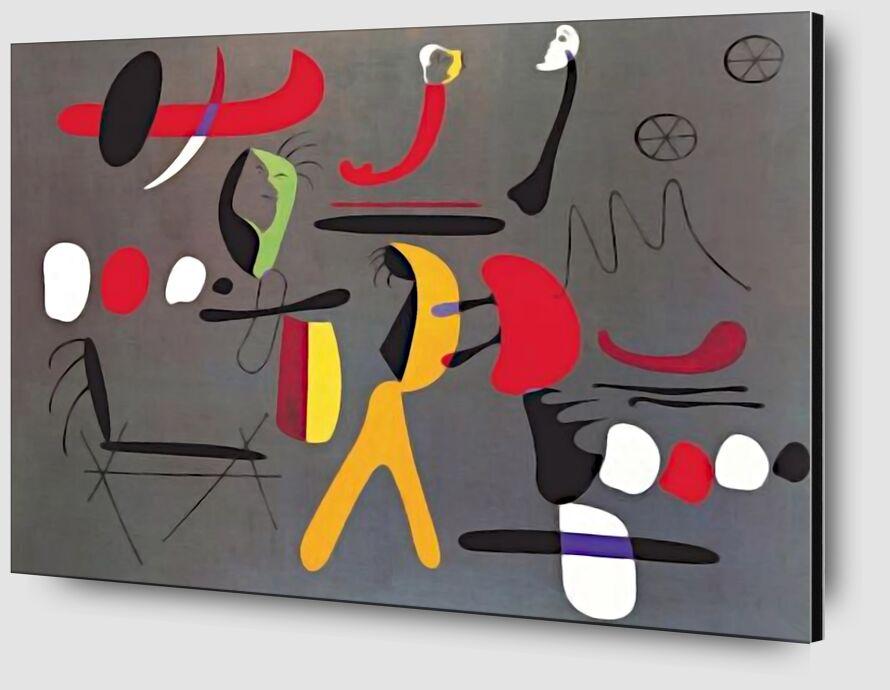 Peinture Collage - Joan Miró de AUX BEAUX-ARTS Zoom Alu Dibond Image