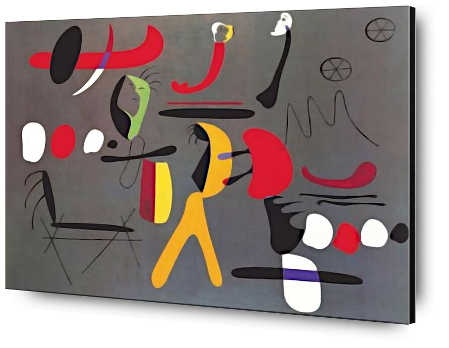 Collage Painting - Joan Miró from AUX BEAUX-ARTS, Prodi Art, Joan Miró, painting, collage, abstract