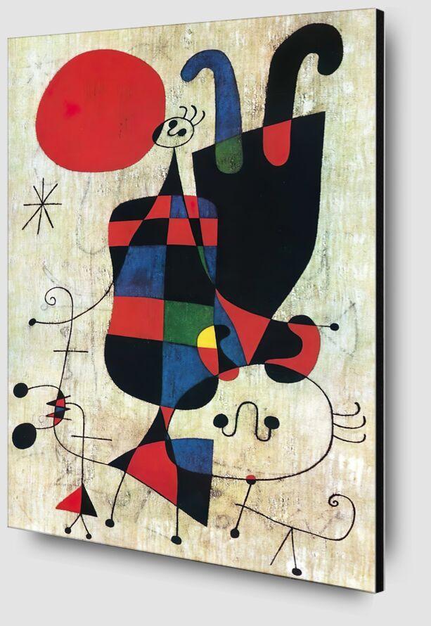 Inversé - Joan Miró de AUX BEAUX-ARTS Zoom Alu Dibond Image