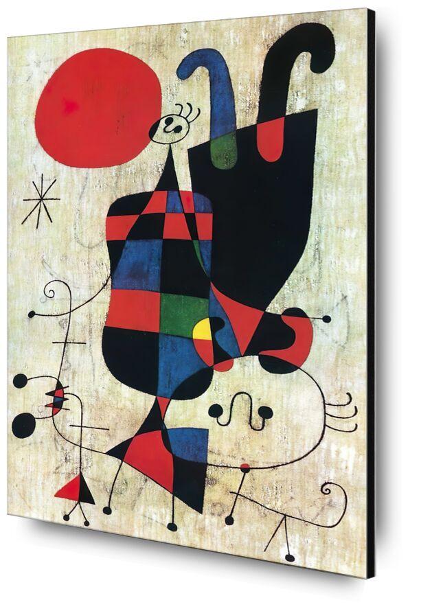 Inversé - Joan Miró de AUX BEAUX-ARTS, Prodi Art, Joan Miró, dessin, abstrait, inversé