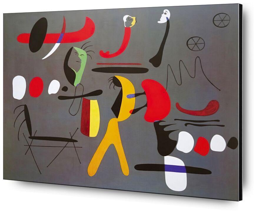 Collage Painting - Joan Miró desde AUX BEAUX-ARTS, Prodi Art, Joan Miró, pintura, collage, abstracto, dibujo, formas y colores