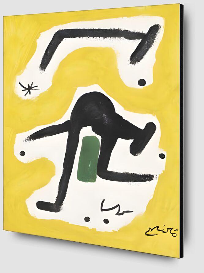 Woman, Birds, Star, 1978 - Joan Miró from AUX BEAUX-ARTS Zoom Alu Dibond Image