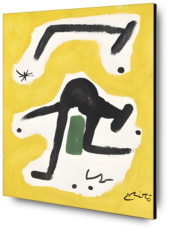 Woman, Birds, Star, 1978 - Joan Miró from AUX BEAUX-ARTS, Prodi Art, Joan Miró, woman, painting, abstract