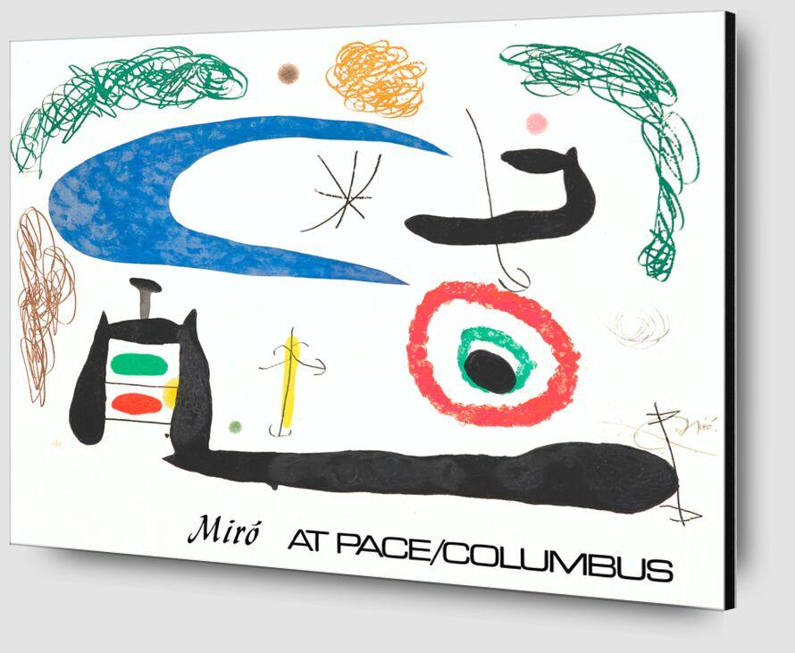 Sleeping under the Moon - Joan Miró desde AUX BEAUX-ARTS Zoom Alu Dibond Image