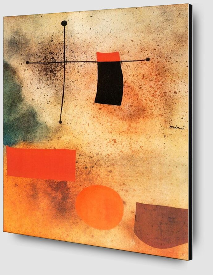 Abstract, c.1935 - Joan Miró from AUX BEAUX-ARTS Zoom Alu Dibond Image
