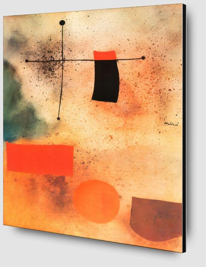 Abstract, c.1935 - Joan Miró desde AUX BEAUX-ARTS Zoom Alu Dibond Image