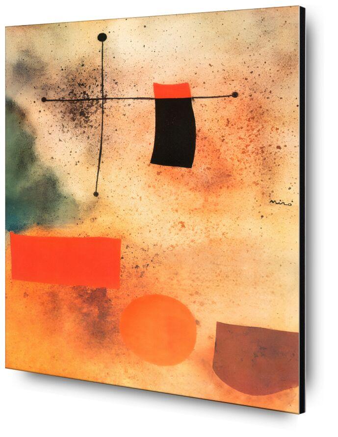Abstract, c.1935 - Joan Miró desde AUX BEAUX-ARTS, Prodi Art, Joan Miró, abstracto, dibujo, cruzar, playa