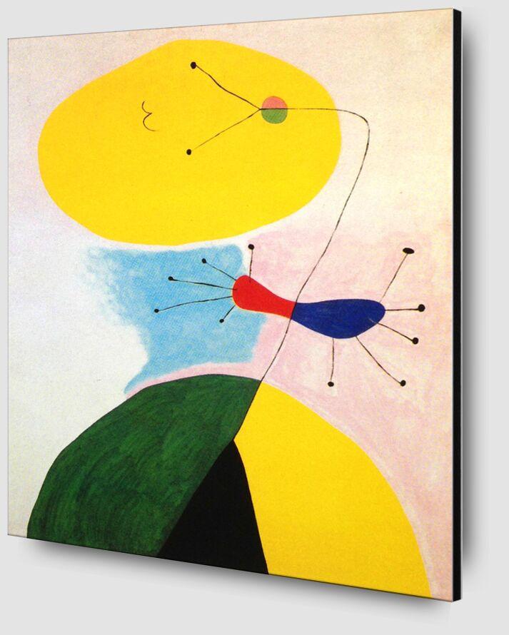 Portrait - Joan Miró de AUX BEAUX-ARTS Zoom Alu Dibond Image