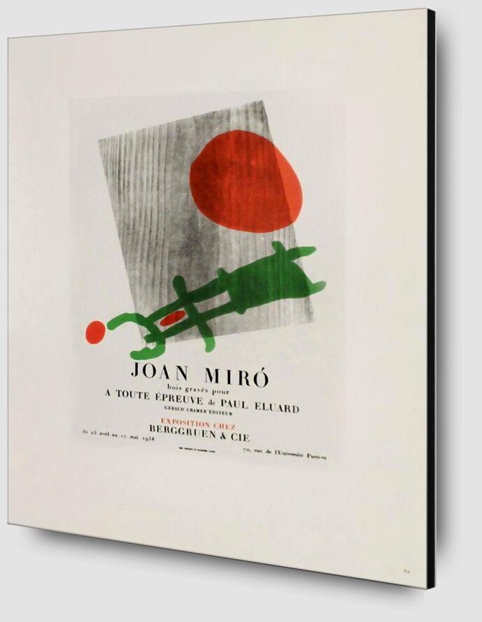 AF 1958,  Berggruen Et Cie - Joan Miró de AUX BEAUX-ARTS Zoom Alu Dibond Image