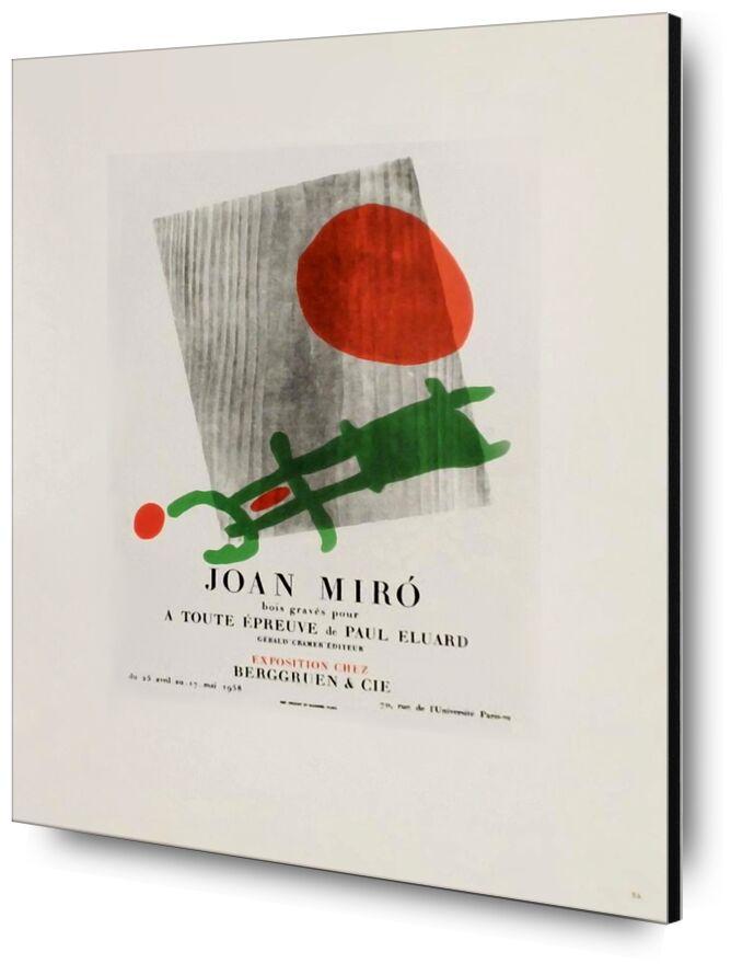 AF 1958, Berggruen Et Cie - Joan Miró desde AUX BEAUX-ARTS, Prodi Art, escultura, madera, abstracto, Fijar, Joan Miró