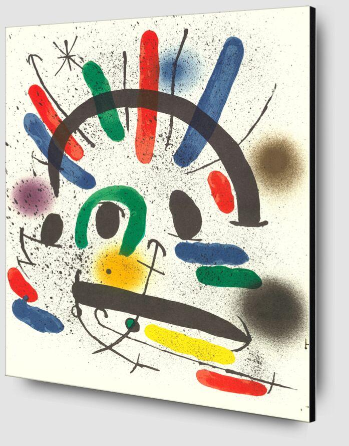 Litografia original II - Joan Miró desde AUX BEAUX-ARTS Zoom Alu Dibond Image
