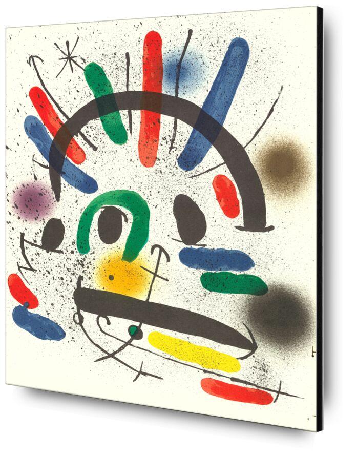 Litografia original II - Joan Miró desde AUX BEAUX-ARTS, Prodi Art, Joan Miró, pintura, abstracto, litografía