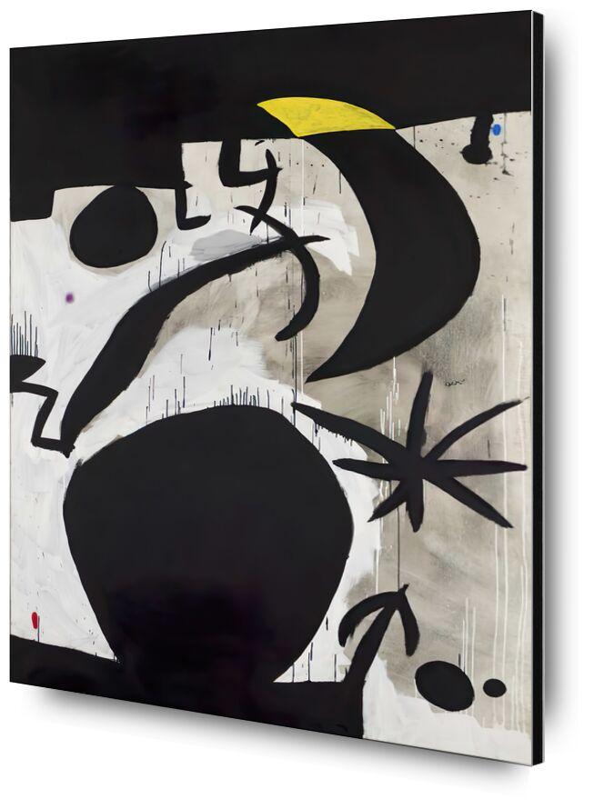 Women and Birds in the Night, 1969 - 1974 - Joan Miró desde AUX BEAUX-ARTS, Prodi Art, Joan Miró, pintura, abstracto, póster