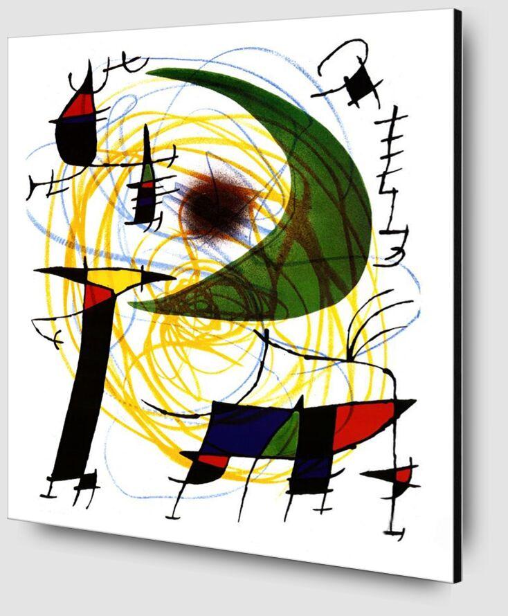 Green Moon - Joan Miró from AUX BEAUX-ARTS Zoom Alu Dibond Image