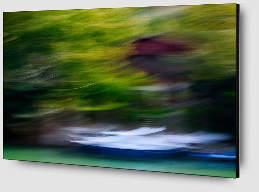 L'embarcadère de Céline Pivoine Eyes Zoom Alu Dibond Image