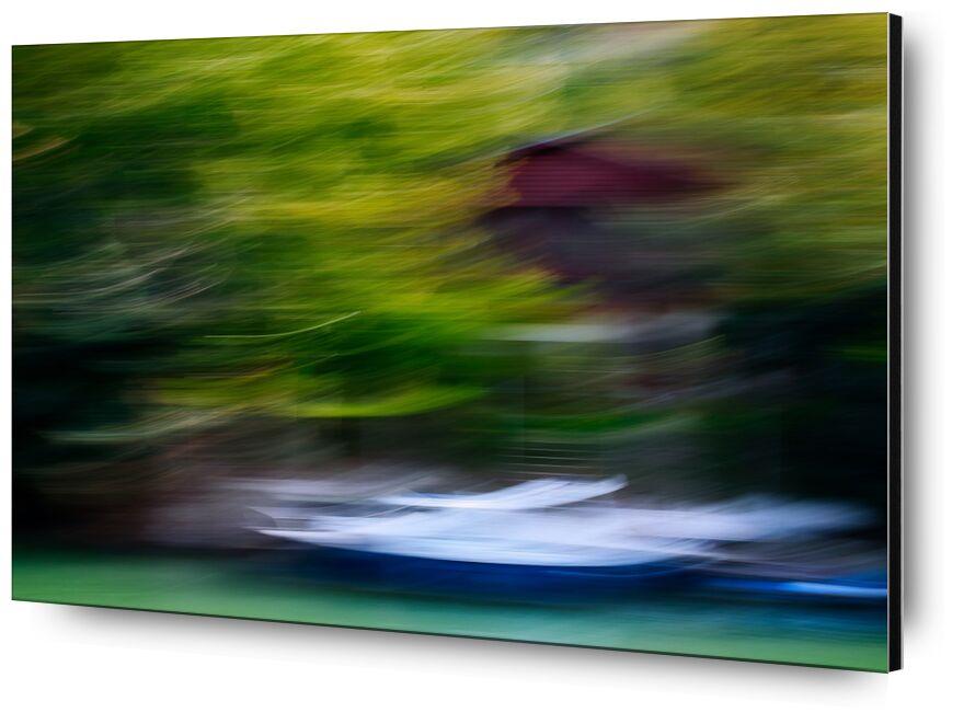 L'embarcadère de Céline Pivoine Eyes, Prodi Art, Photographie abstraite, art abstrait, bateau, Marne, Bord de marne, embarcadère, flou artistique, flou, Mouvement intentionnel de la caméra, ICM