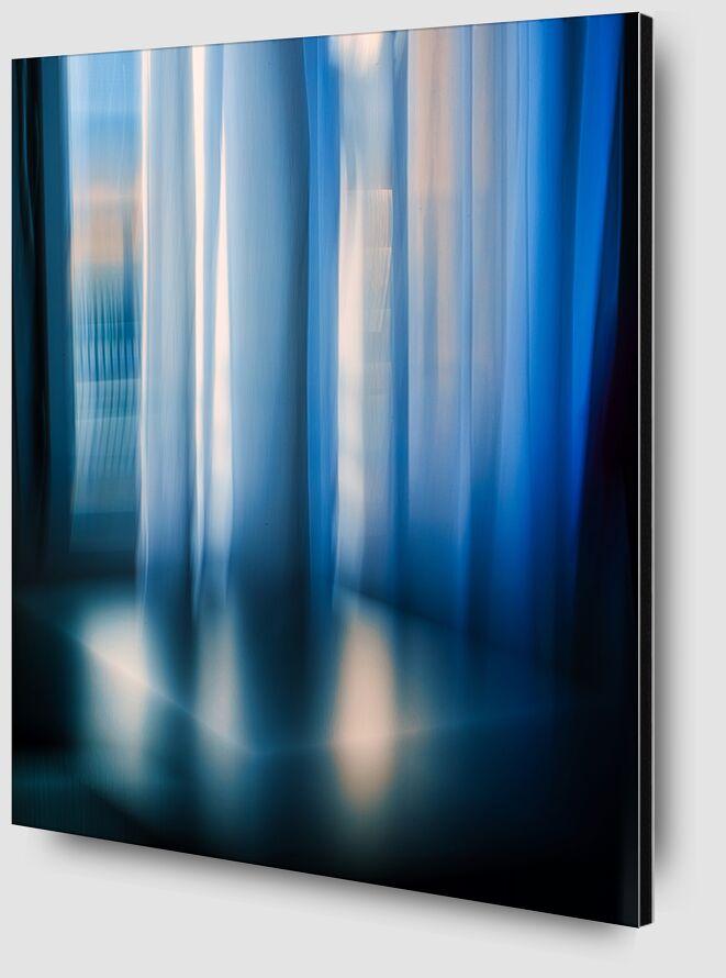 Les rideaux de Céline Pivoine Eyes Zoom Alu Dibond Image