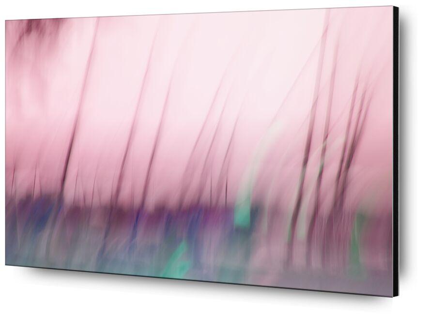 Les mâts de Céline Pivoine Eyes, Prodi Art, ICM, Mouvement intentionnel de la caméra, flou artistique, art abstrait, Photographie abstraite, mâts, bateaux, paysage, Voyage, rose, mer