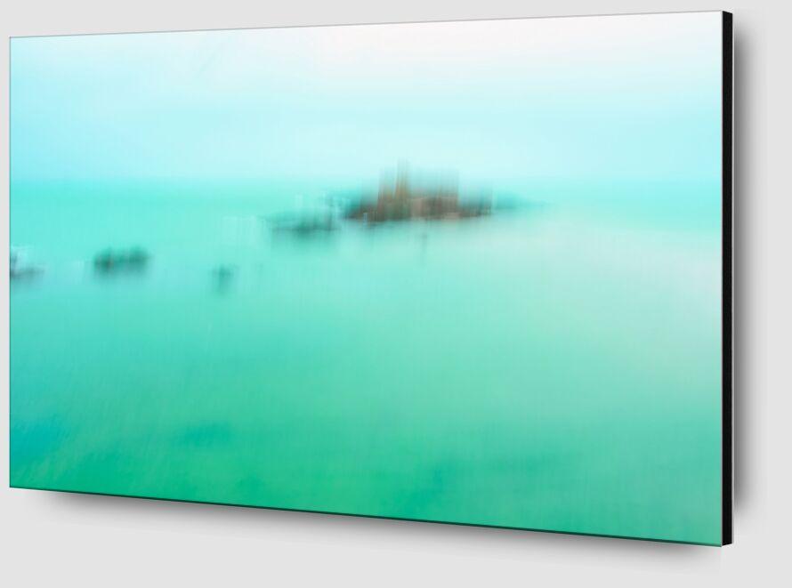 Le Fort National de Saint-Malo en ICM de Céline Pivoine Eyes Zoom Alu Dibond Image