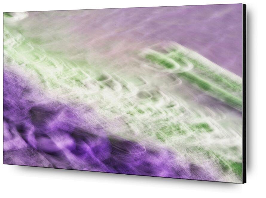 Marais salin de Céline Pivoine Eyes, Prodi Art, Salin, paysage marin, violet, mer, gruissan, Voyage, paysage, Photographie abstraite, art abstrait, flou artistique, Mouvement intentionnel de la caméra, ICM, Marais salin