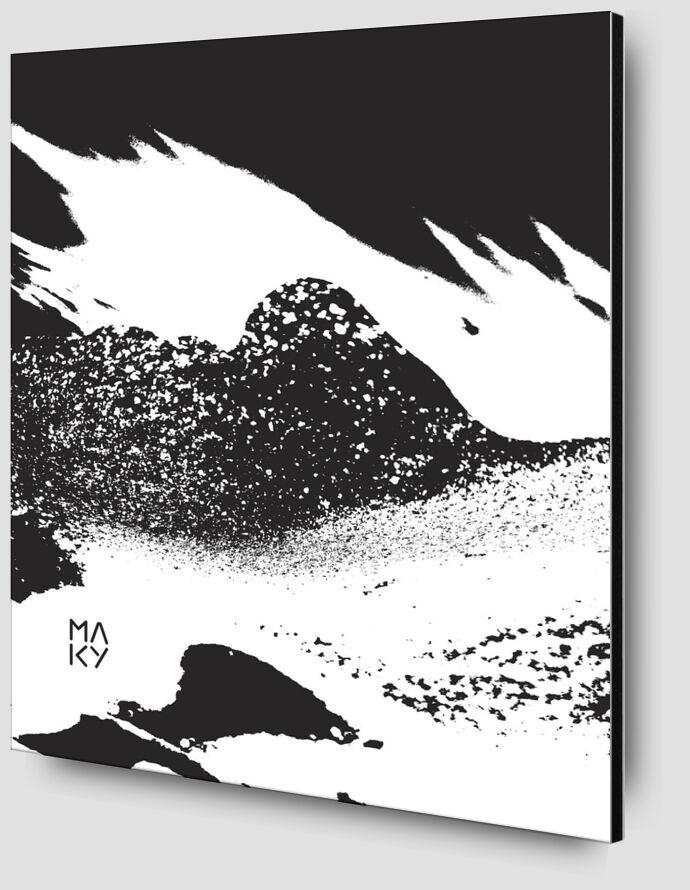 気2.1 from Maky Art Zoom Alu Dibond Image