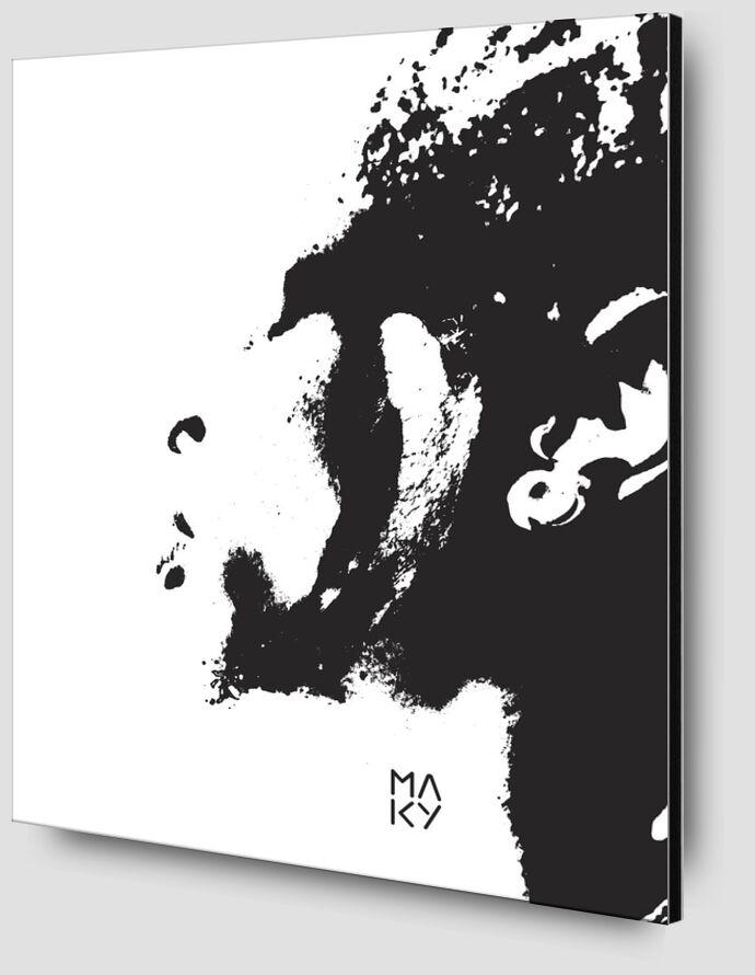 気2.3 from Maky Art Zoom Alu Dibond Image