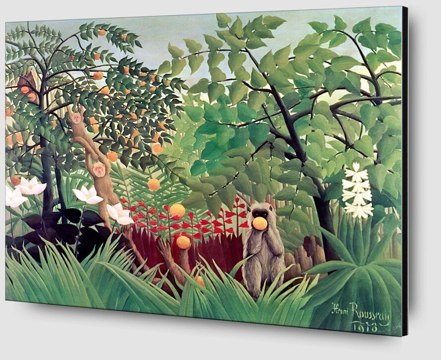 Exotic Landscape from Aux Beaux-Arts Zoom Alu Dibond Image