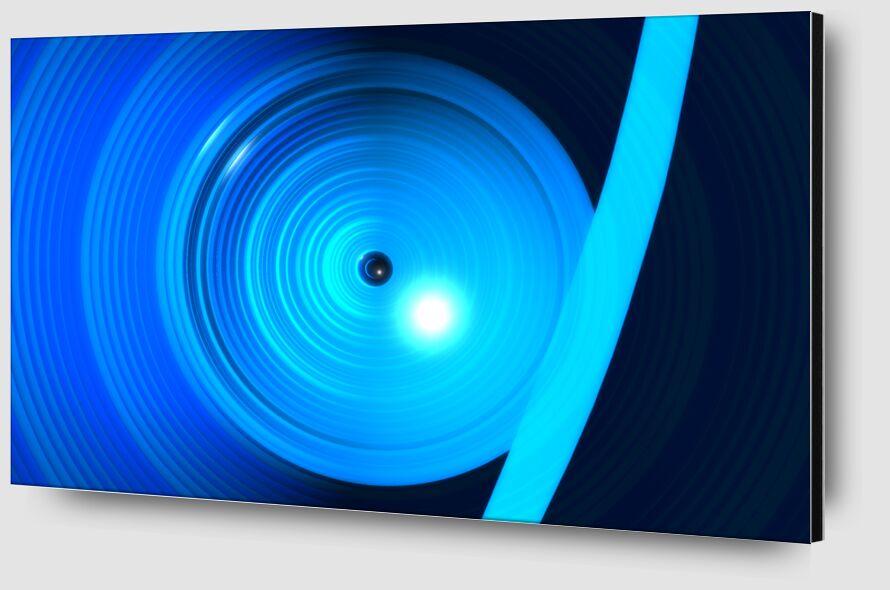 abstraction115 de Frederick Libereau Zoom Alu Dibond Image