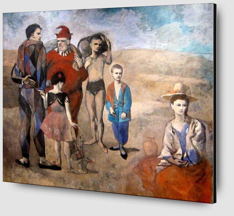 Famille de saltimbanques de Aux Beaux-Arts Zoom Alu Dibond Image
