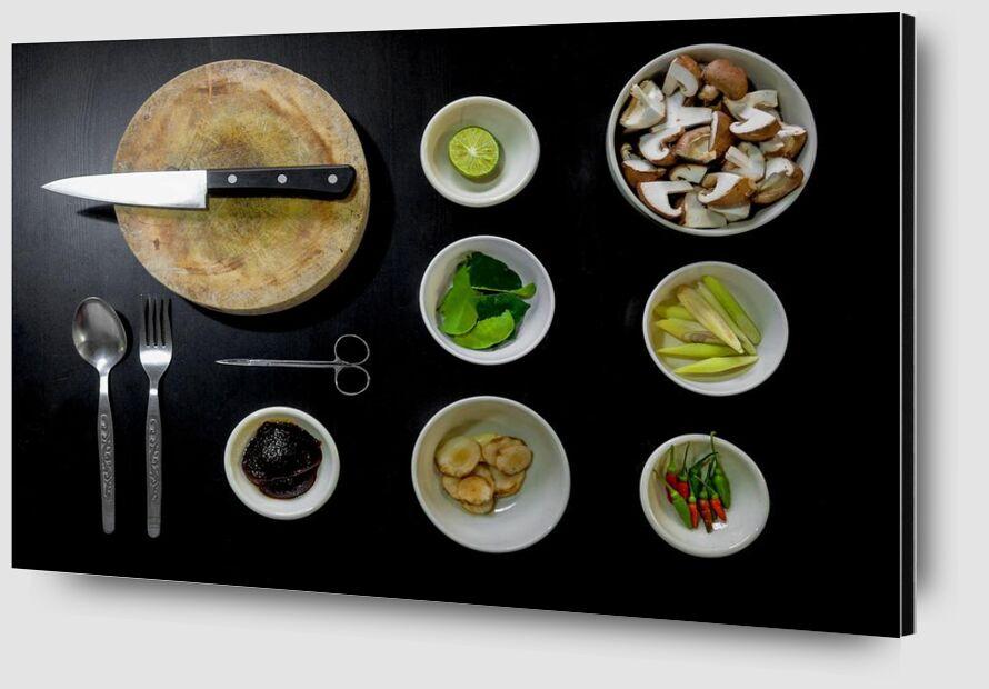 Our utensils from Pierre Gaultier Zoom Alu Dibond Image