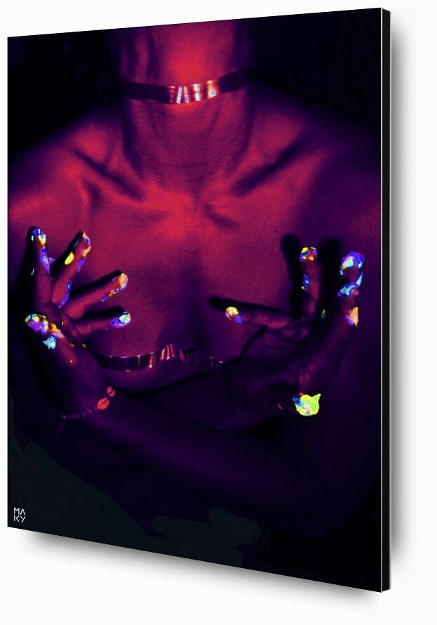 DarkEnergy.2 from Maky Art, Prodi Art, uvlight, woman, photography, bodypainting