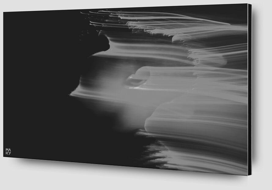 PhaseTransition.2 from Maky Art Zoom Alu Dibond Image