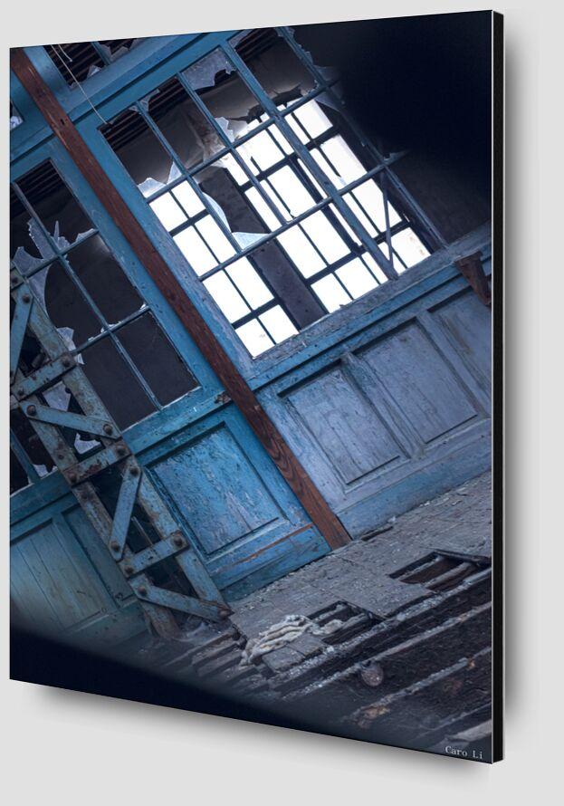 Abandonned 2 de Caro Li Zoom Alu Dibond Image