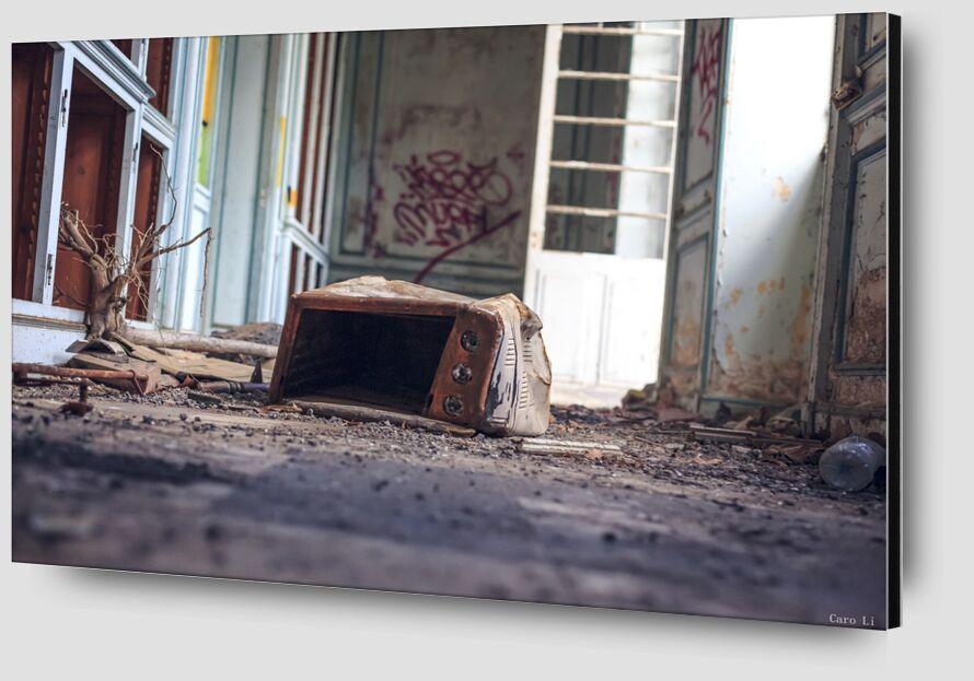 Abandonned 4 de Caro Li Zoom Alu Dibond Image