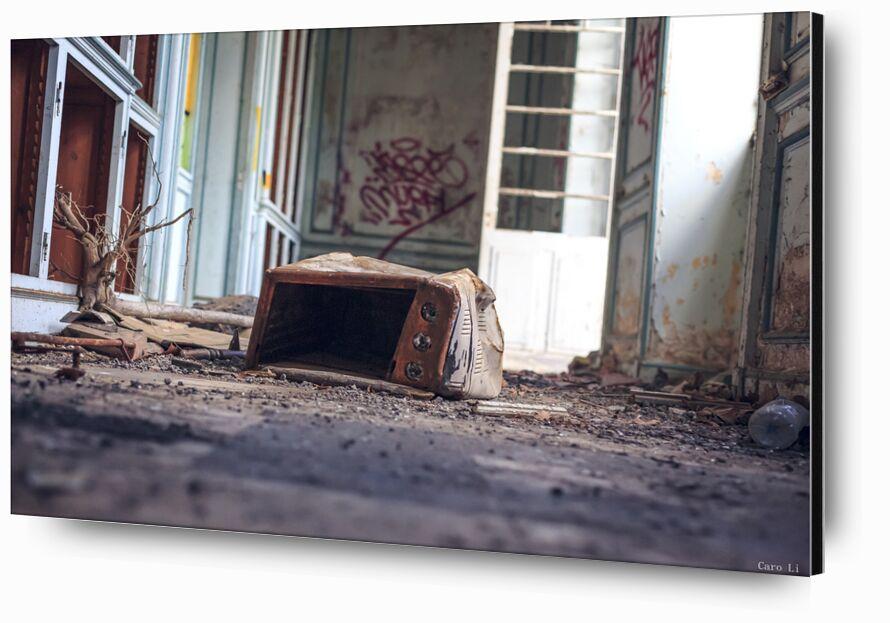 Abandonned 4 de Caro Li, Prodi Art, lieu abandonné, Photographie, abandonné, Urbex