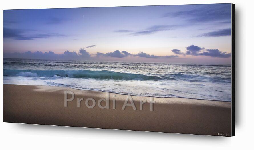Rêve d'un soir de Caro Li, Prodi Art, océan, mer, mer, plage, plage, océan, Landsacpe, coucher de soleil, couché de soleil, paysage