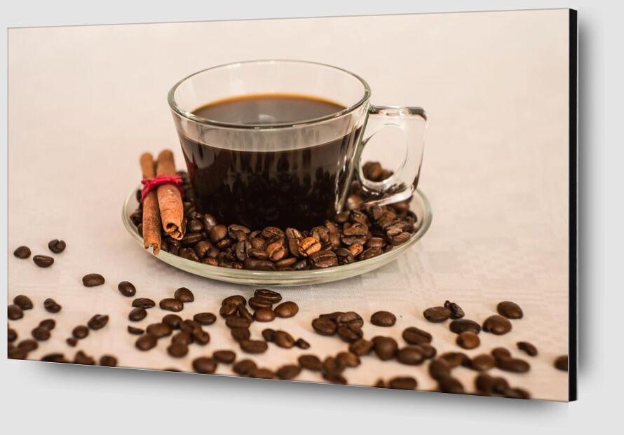Une tasse et ses grains de Pierre Gaultier Zoom Alu Dibond Image