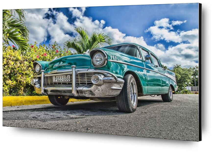 Rétro from Aliss ART, Prodi Art, clouds, classic, chrome, car, car, low angle shot, luxury, outdoors, pavement, breed, reflection, road, sky, street, style, summer, transportation, transportation system, travel, trees, vintage, wheel, asphalt, automobile, automotive, classic car, drive, fast, vehicle